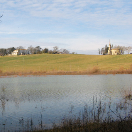 Château de Batz - Vic-Fezensac - Gers 32 - point d'eau